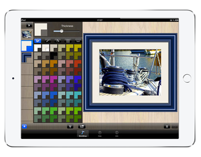 Frame builder : great photo framing App for Ipad and IPhone - Photo ...
